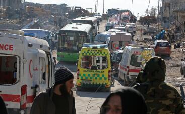 En fotos: La batalla por Alepo se acerca a su fin con la evacuación de miles de civiles y combatientes