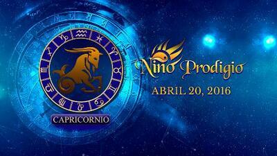 Niño Prodigio - Capricornio 20 de abril, 2016