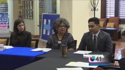 América Ferrera escucha a jóvenes migrantes de SA