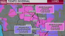 Pronóstico Arizona: alerta por tormenta invernal en varias zonas del estado