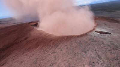 El volcán Kilauea entra en erupción: declaran la emergencia y evacúan 1,700 personas en Hawaii (fotos)