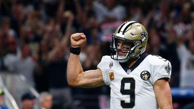 ¡Historia en la NFL! Drew Brees se convierte en el QB con más yardas de todos los tiempos