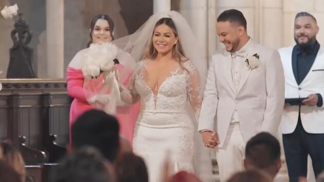 La ceremonia que no vimos: el video de Chiquis Rivera dándole el 'sí' a Lorenzo Méndez en el altar