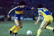 El Azteca estrenó iluminación con gol de Maradona ante el América
