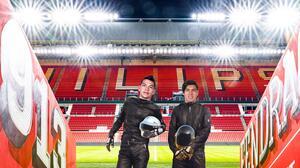 PSV rinde homenaje a la mexicana a Daft Punk con Chucky y Guti