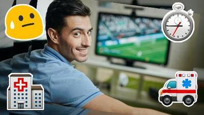 Ver mucho fútbol pudiera generar enfermedades, toma precauciones o el próximo mundial lo oirás por radio