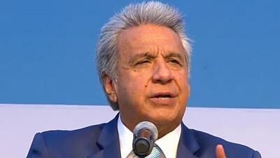 Presidente Lenín Moreno anuncia que se solicitarán visas a los venezolanos que desean ingresar a Ecuador