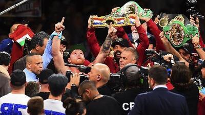 Lo mejor del 2018: Saúl el 'Canelo' Álvarez, campeón al vencer a Gennady Golovkin y Rocky Fielding