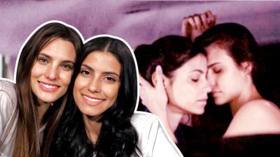Macarena Achaga y Bárbara López se sienten orgullosas de haber mostrado el amor de 'Juliantina' en 'Amar a muerte'