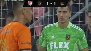 LAFC no pudo con Houston Dynamo en casa; Vela salió de cambio