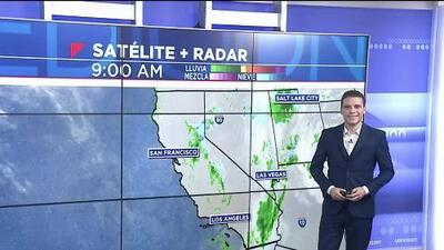 Se esperan algunas lluvias ligeras para la noche de este martes en Los Ángeles, con alerta por fuertes vientos