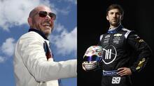Pitbull cumple su sueño de entrar a NASCAR con el piloto mexicano Daniel Suárez
