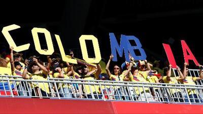 El sentir de la hinchada colombiana antes del partido ante Inglaterra en los octavos de final del Mundial