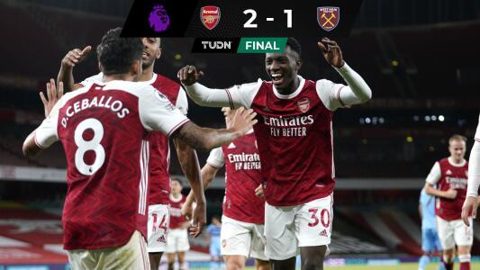 Arsenal y Everton con paso firme; el United cae por goleada