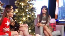 Todo lo que pasó tras bastidores en las grabaciones del especial de Navidad