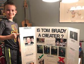 Odio a Tom Brady, creo que es un tramposo: niño de 10 años que compartió su teoría