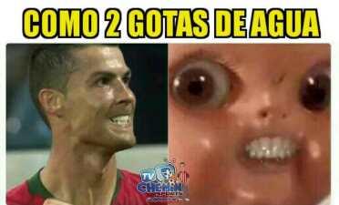 Memelogía | De Gea y Cristiano Ronaldo, víctimas de los memes en remate del grupo B