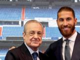 Sergio Ramos se despidió entre lágrimas del Real Madrid