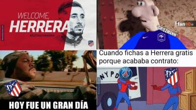 Memelogía: la llegada de Héctor Herrera al Atlético de Madrid y el humor de los fichajes en Europa