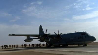 Avión estadounidense se estrella en Afganistán