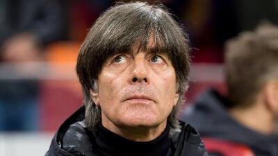 Joachim Löw fue hospitalizado y no estará en dos partidos de Alemania rumbo a la Eurocopa
