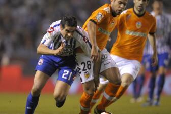 La Coruña llora el descenso del Deportivo