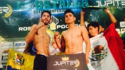 Jorge Linares e Iván Cano superaron la báscula