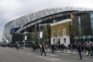 LONDON, ENGLAND - APRIL 13: General view outside the stadium prior to the Premier League match between Tottenham Hotspur and Huddersfield Town at the Tottenham Hotspur Stadium on April 13, 2019 in London, United Kingdom. (Photo by Shaun Botterill/Getty Images)