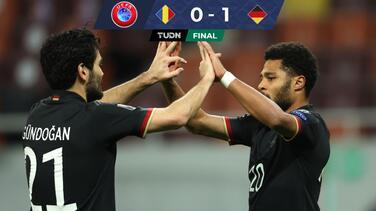 Con un gol de Serge Gnabry, Alemania venció a Rumania