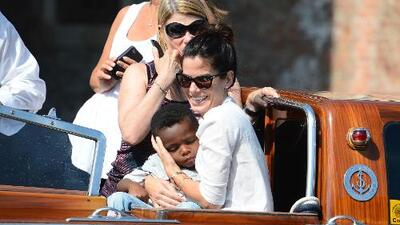 Sandra Bullock agradecida con Louis por cambia su vida
