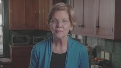 Con este mensaje Elizabeth Warren entra en campaña por la presidencia contra Trump en 2020