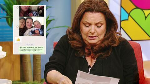 La hermana de Julián Gil muestra las pruebas de que han buscado poder ver a Matías