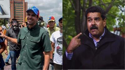 Capriles resulta herido tras una nueva manifestación y Maduro acusa al gobierno de Trump de financiar las protestas en Venezuela