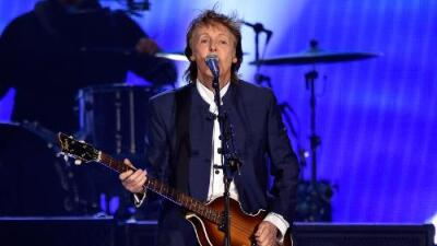 PAUL McCARTNEY SAYS SOME PEOPLE READ TOO MUCH INTO HIS SONGS