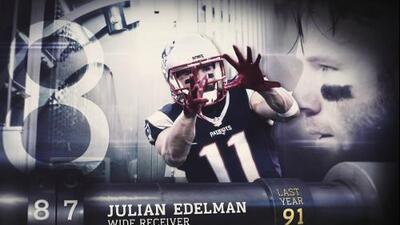 Top 100 Jugadores del 2016: (Lugar 87) WR Julian Edelman