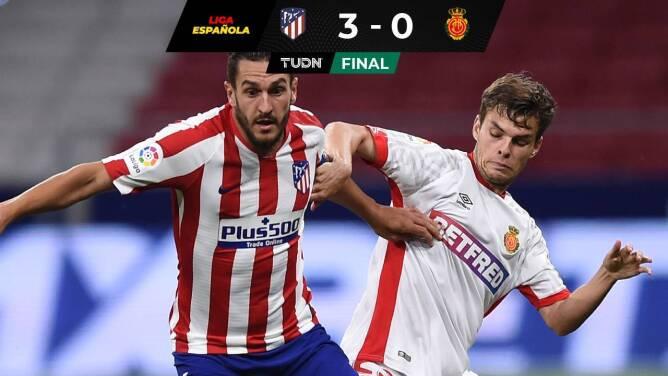 Sin Luka Romero el Mallorca perdió contra el Atlético de Madrid