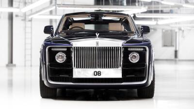 Detalles y fotos del Rolls Royce Sweptail, el auto nuevo más caro de todos los tiempos