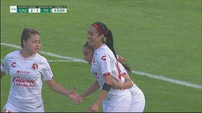¡Cabezazo impecable de Renae Cuéllar para acercar a Tijuana!