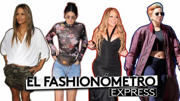 Fashionómetro: Lady Gaga irreconocible, Mariah Carey apretada y Kendall Jenner muy casual ¿Pero qué fue lo que les pasó?