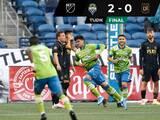 Regresó Carlos Vela, pero Seattle agudizó la crisis de LAFC