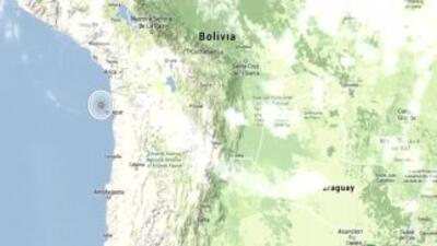 Alerta de tsunami tras terremoto de magnitud 7,9 en el norte de Chile