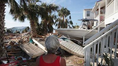 La importante labor de la Cruz Roja tras el paso del huracán Michael por Florida