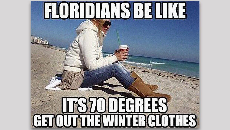 Memes Mas Divertidos Del Frio En Florida