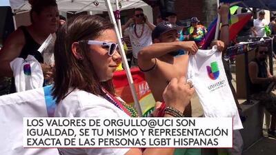 Univision Dallas Presente en Desfile de Dallas Pride