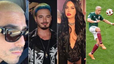 Espinoza Paz sorprende con su nuevo look 'a la J Balvin' y otros cambios extremos de famosos
