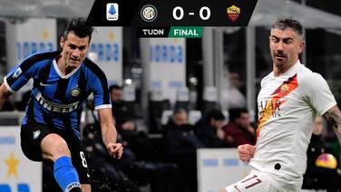 Inter de Milán no logra despegarse demasiado de la Juve