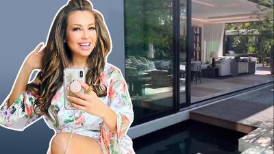 Entre diversión y juegos con sus hijos, Thalía y Tommy Mottola mostraron su mansión