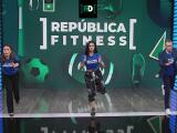 ¡Para moverse! Félix y Lindsay bailan en República Fitness