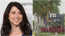 Universidad Internacional de Florida recibe millonaria donación por parte de MacKenzie Scott