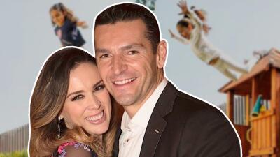 """El esposo de Jacqueline Bracamontes reacciona tras ser criticado por hacer actividades """"peligrosas"""" con sus hijas"""